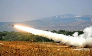עימות בצפון (צילום: Aviv Dibon/IDF via Getty Images)
