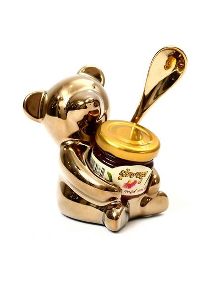 ראש השנה עד 50 שקל, ג, דובי זהב, כפית וצנצנת דבש, 45 שקל, ג'נטלמן (צילום: יחצ)