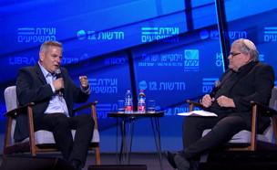ניצן הורוביץ בוועידת המשפעים  (צילום: החדשות 12)