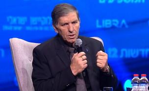 """דני עטר יו""""ר קרן קיימת לישראל בועידת המשפיעים (צילום: החדשות 12)"""