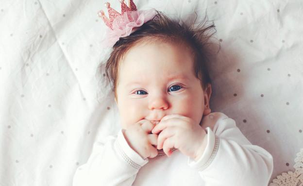 תינוקת  (צילום: shutterstock, Nadezda Barkova)