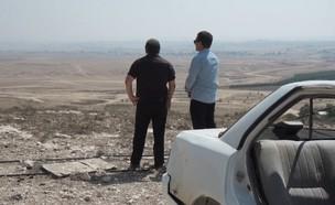 דני קושמרו והעברת בסיסי המודיעין לנגב (צילום: החדשות 12)