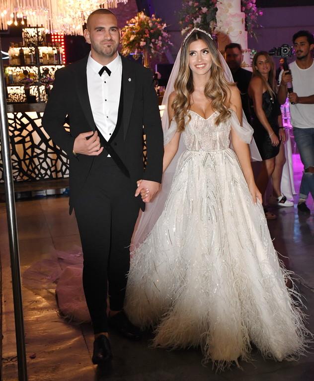 אלעד לוי וליהי בנין התחתנו, ספטמבר 2019