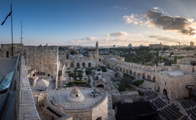 תצפית מגדל דוד (צילום: איתי מוניקנדם)
