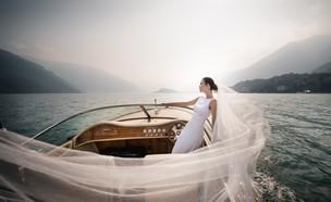 חתונת יעד באגם קומו (צילום: כריסטיאנו אוסטילני)