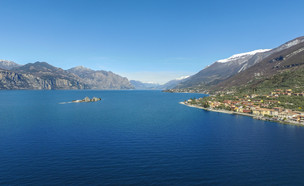 אגם גארדה ליד לאזיס (צילום: BNFWork, ShutterStock)