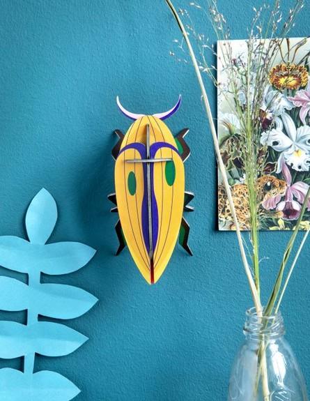 ראש השנה עד 50 שקל, ג, חרקים מקרטון להרכבה, מ-49 שקל, יולטה (צילום: יחצ)