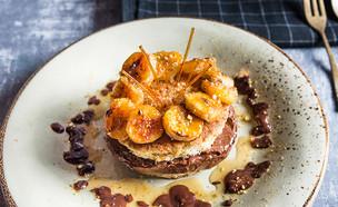 עוגת מוס שוקולד ופיסטוק (צילום: יעל יצחקי, מאסטר שף)