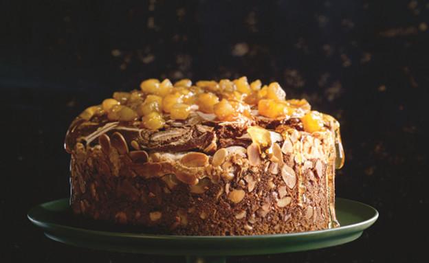 עוגת דבש תפוחים ומרנג אספרסו של רולדין (צילום: ארז בן שחר, יחסי ציבור)
