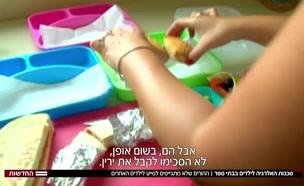 סכנות האלרגיות בבתי הספר (צילום: חדשות)