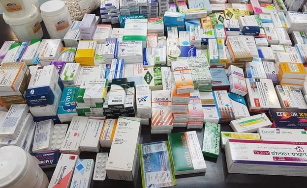 תרופות  (צילום: דוברות משרד הבריאות)