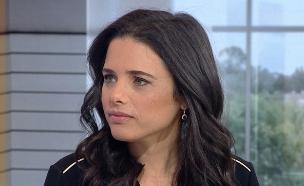 """איילת שקד בראיון מיוחד, שישה ימים לבחירות (צילום: מתוך """"חדשות הבוקר"""" , קשת 12)"""