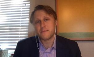 דניאל ליפמן, הכתב שחשף ריגול ישראלי בוושינגטון  (צילום: החדשות 12, חוסין אל אוברה)