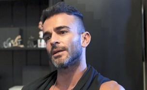 """אליאב אוזן בראיון אחרי הפרידה מדנית (צילום: מתוך """"אנשים"""", קשת 12)"""