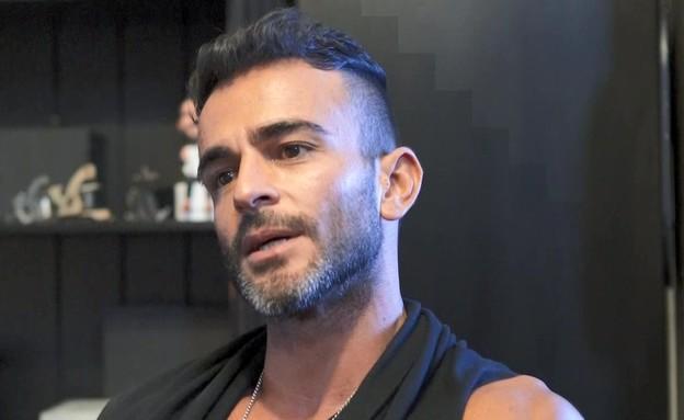 אליאב אוזן בראיון אחרי הפרידה מדנית (צילום: מתוך