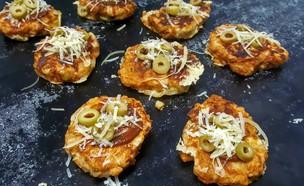 פנקייק פיצה (צילום: רון יוחננוב, אוכל טוב)