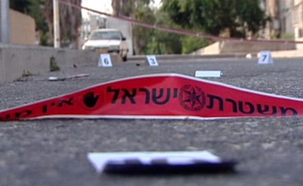 נסיבות האירוע נחקרות. זירת רצח, ארכיון (צילום: חדשות 2)