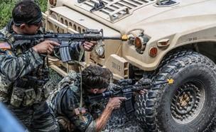 הכוחות בתרגיל מיוחד (צילום: US Army/Sgt. Iman Broady-Chin)