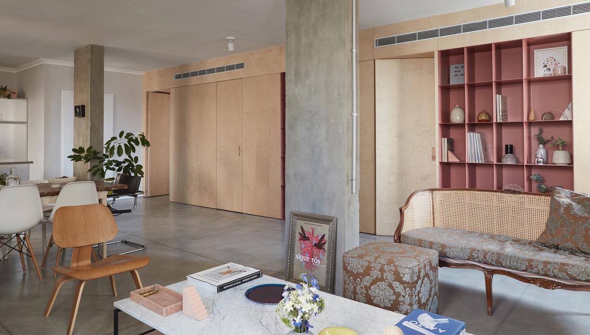 11 - דירה ביפו, עיצוב סטודיו This is IT