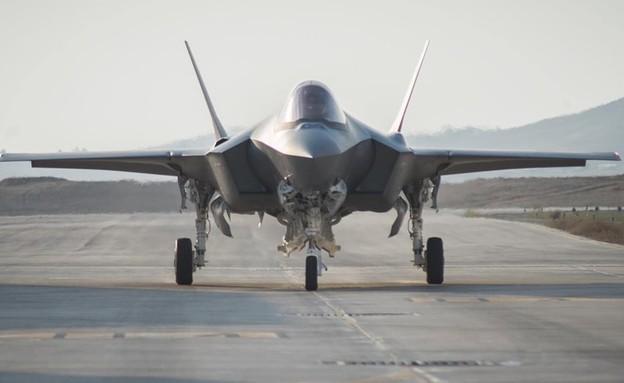 משלוח אדיר נוחת בישראל (צילום: מייק יודין, אתר חיל האוויר)