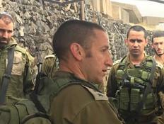 הקצין שאיבד את עינו בלבנון, יפקד על גולני