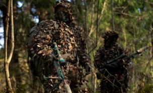 לוחם היחידה בפעולה (צילום: russia ministry of defense)