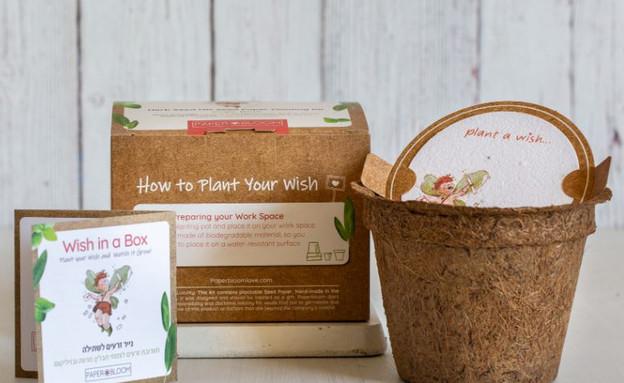 מתנות בלוגריות, ליאת, ערכת WISH IN A BOX (צילום: אלונה להב)