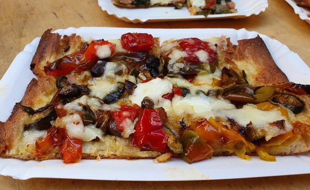 פיצה ברושולי (צילום: דנה גוטרזון)
