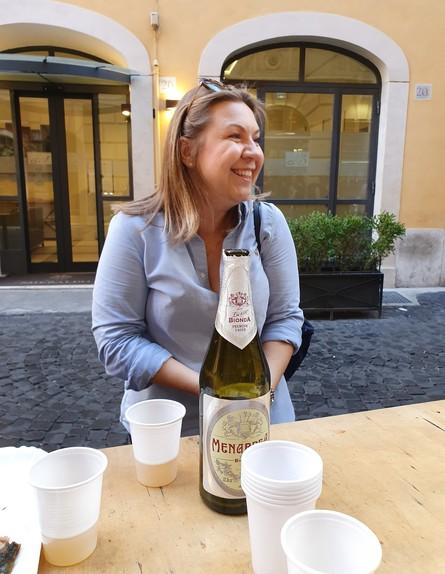 מירי דור, סיור אוכל (צילום: דנה גוטרזון)