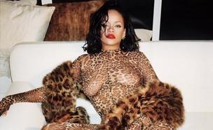 ריהאנה מנומרת (צילום: מתוך עמוד האינסטגרם של ריהאנה)