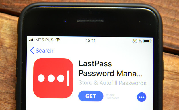 לאסטפאס - Lastpass אפליקציית סיסמאות (צילום:  igor moskalenko, ShutterStock)