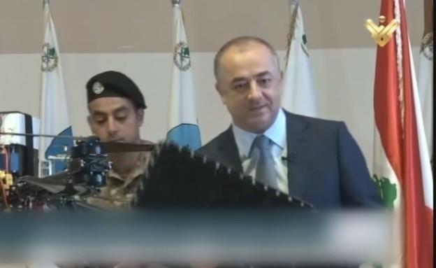 שר ההגנה הלבנוני חושף את תחקיר הרחפן הישראלי