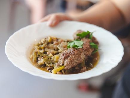 שולה מטבח טברייני חיפה - פנג'ס (צילום: נופר טל, יחסי ציבור)