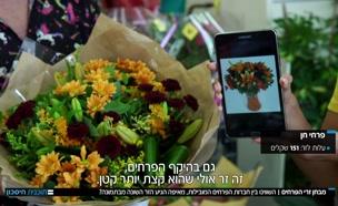 מבחן זרי הפרחים (צילום: חדשות)