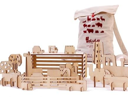 חיות עץ מותג יאלולא פעילות יצירה לילדים