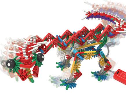 5887_(1)קינקס דינוזאור רקס 255 חלקים מחיר מומלץ 189.90 שח