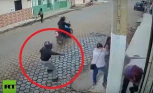 התנקשות שהסתבכה (צילום: youtube | RT en Español )