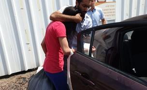 המטפלת המתעללת כרמל מעודה (צילום: חדשות 12)