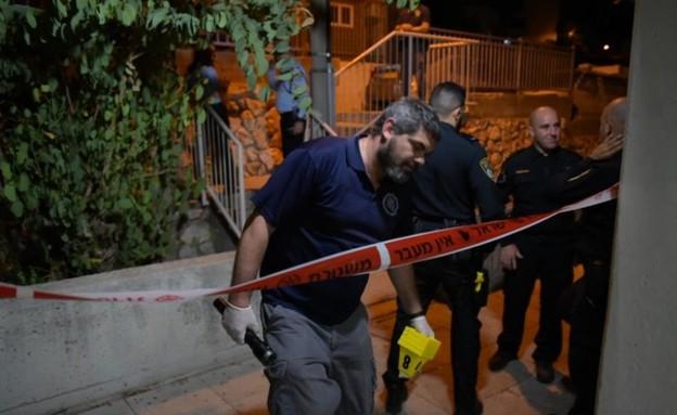 חשד לרצח בנצרת: גבר נורה למוות בסמוך לביתו (צילום: דוברות המשטרה)