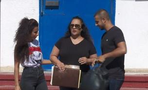 סימונה מורי שרצחה את בן זוגה המתעלל תשוחרר (צילום: חדשות 12)