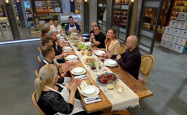 שולחן החג של מאסטר שף (צילום: מתוך מאסטר שף, קשת 12)