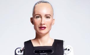 סופיה הרובוטית האנושית (צילום: Hanson Robotics)
