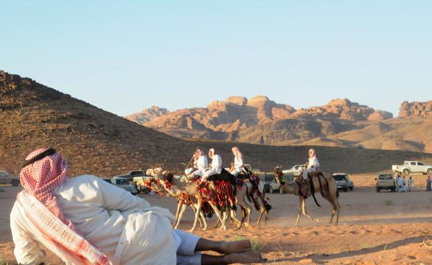 תיירות בערב הסעודית (צילום: רויטרס, שי פרנקו, רויטרס)