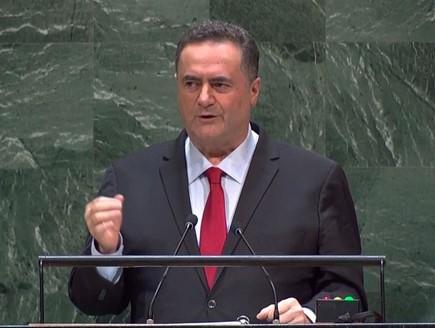 שר החוץ ישראל כץ באו