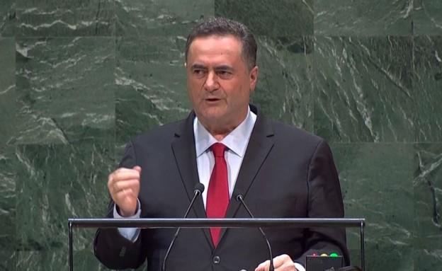"""שר החוץ ישראל כץ באו""""ם"""
