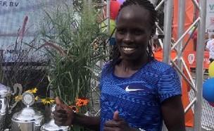 לונה צ'מטאי סלפטר ריצה מרתון (צילום: ארכיון, באדיבות איגוד האתלטיקה)