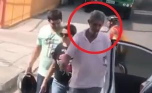 התאונה בברזיל (צילום: youtube/BRIAN SANTOS)