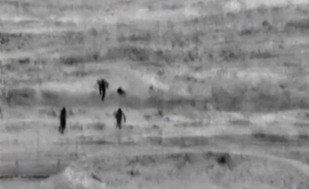 כוח גולני שחיסל את חוליית המחבלים שחדרה מעזה (צילום: החדשות 12)