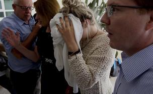 הצעירה הבריטית שהתלוננה על אונס בקפריסין (צילום: AP)