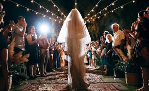 החתונה של שונית וחן  (צילום: בר כהן ואפי יוספי)